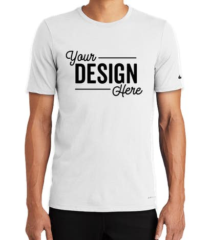check out detailed images high quality Custom Nike Dri-FIT Performance Blend Shirt - Design ...