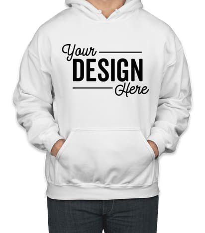 Custom Canada - Gildan Midweight 50/50 Pullover Hoodie - Design Sweats  Online at CustomInk.com