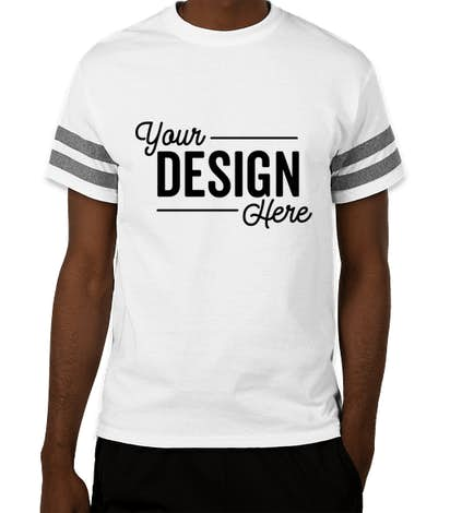 Custom Gildan Varsity T Shirt Design