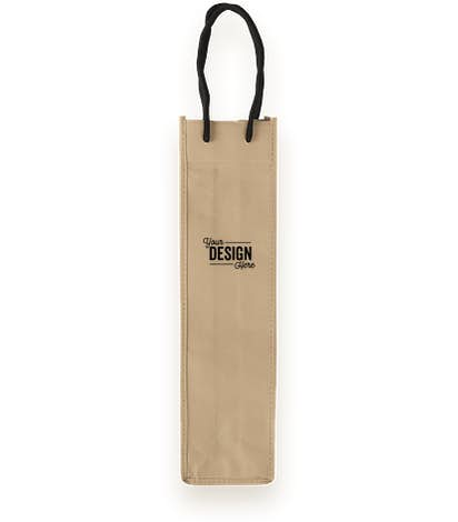 Single Bottle Non Woven Wine Bag