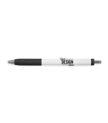 Paper Mate Inkjoy White Body Click Pen Black Ink