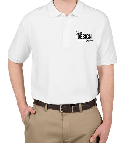 custom ink polo shirts for employees