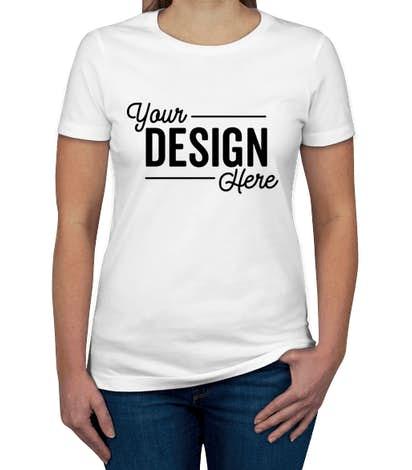 Custom Next Level Women's Slim Fit Jersey T-shirt - Design Women's Short  Sleeve T-shirts Online at CustomInk.com
