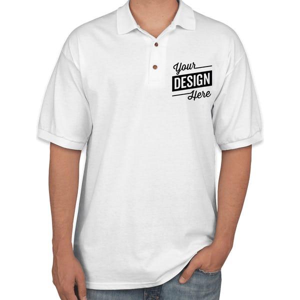 b8c47cd7bb1f Design Custom Printed Gildan Ultra Cotton Polo Shirts Online at CustomInk
