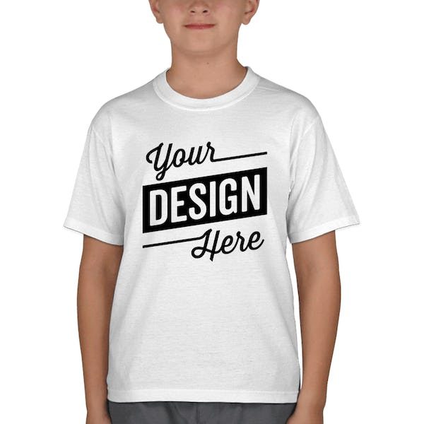 d1341889 Jerzees Youth 50/50 T-Shirt - Design Custom Kids Cotton-Poly Tees