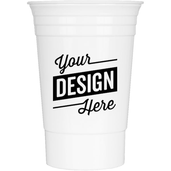 Design Custom Printed 16 Oz Reusable Plastic Party Cups Online At Customink