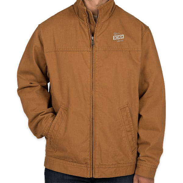 attractive price wide selection get new CornerStone Duck Cloth Flannel-Lined Work Jacket