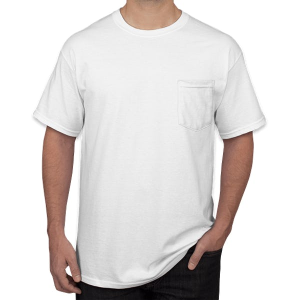 Gildan Ultra Cotton Pocket T Shirts
