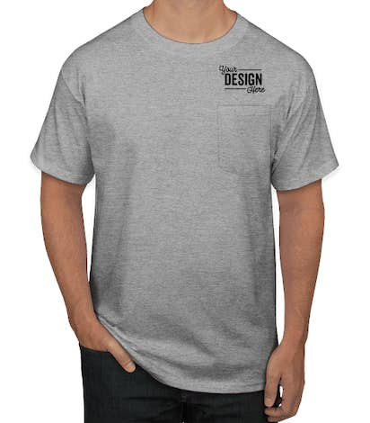 superior performance exclusive range website for discount Hanes Workwear Pocket T-shirt