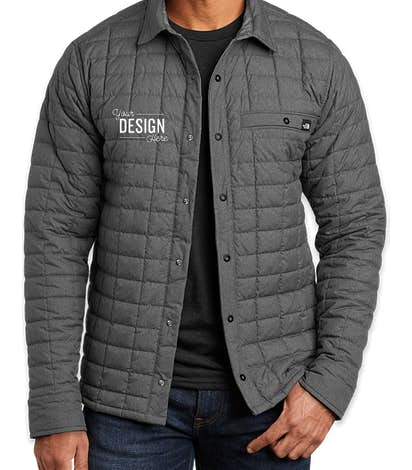 Custom The North Face Thermoball Eco Snap Jacket Design